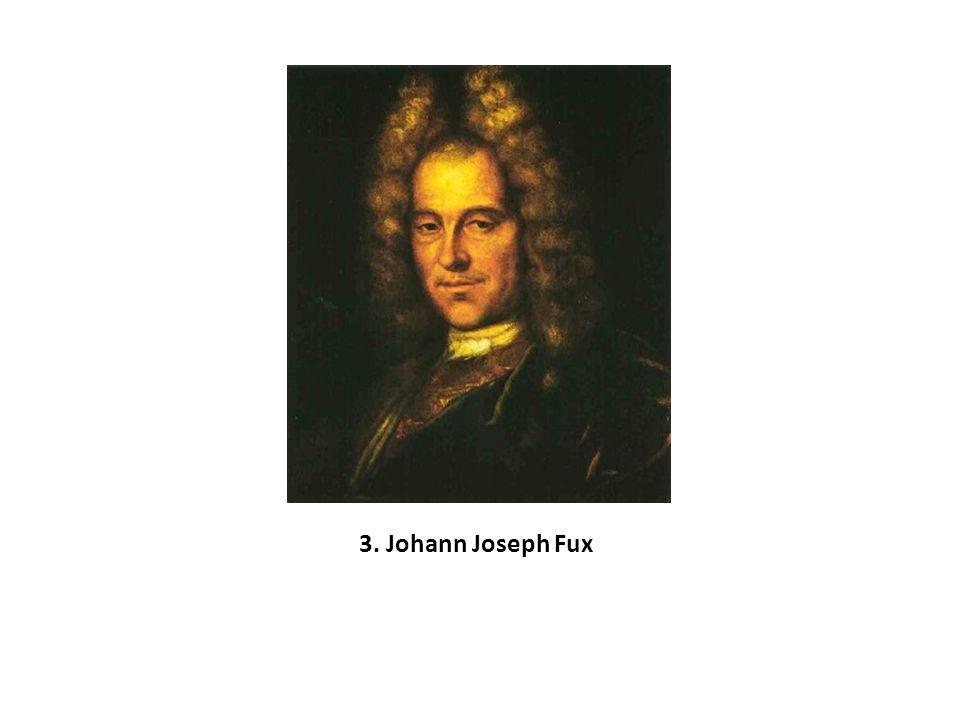 3. Johann Joseph Fux