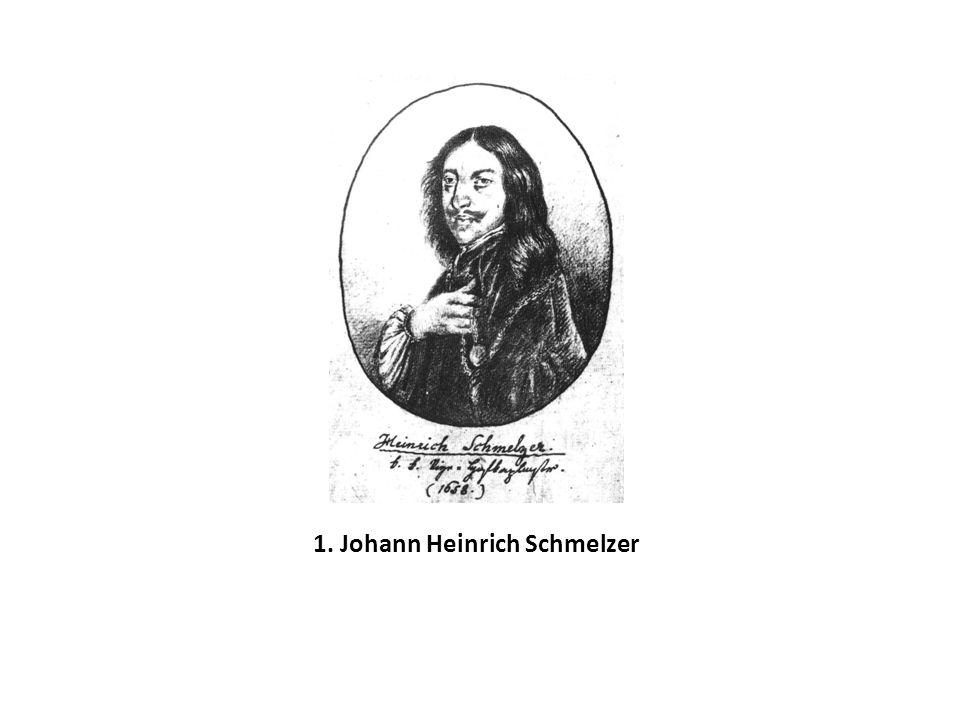 1. Johann Heinrich Schmelzer