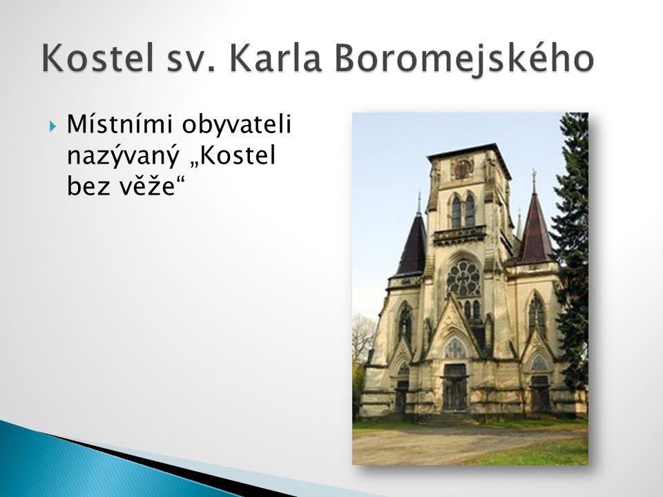 """ Místními obyvateli nazývaný """"Kostel bez věže"""