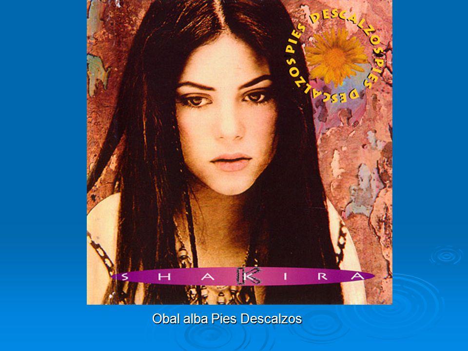 Třetí album a první kompilace Shakira se k nahrávání vrátila v roce 1995, ovlivněna Alanis Morissette a vydala CD Pies Descalzos (Naboso), které jí v