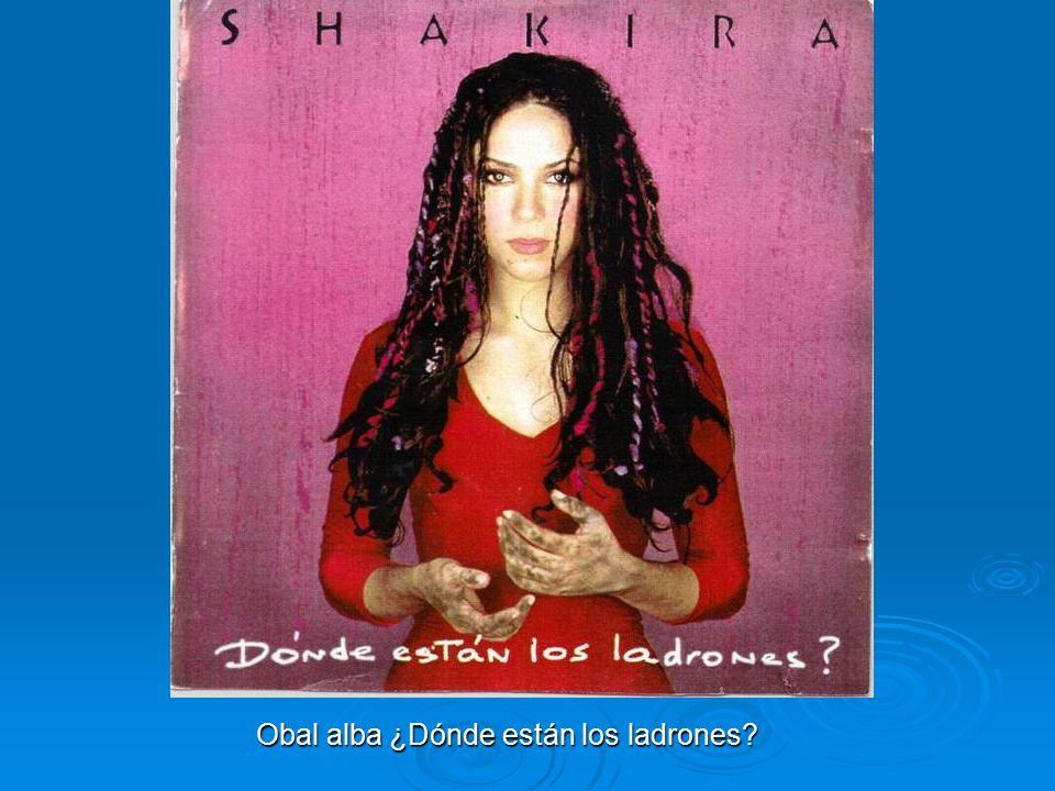 Čtvrté album a první živé album Její čtvrté album ¿Dónde están los ladrones? (Kde jsou lupiči?) bylo vydáno v roce 1998. Produkoval ho Emilio Estefan,