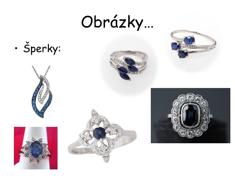 Obrázky… Šperky: