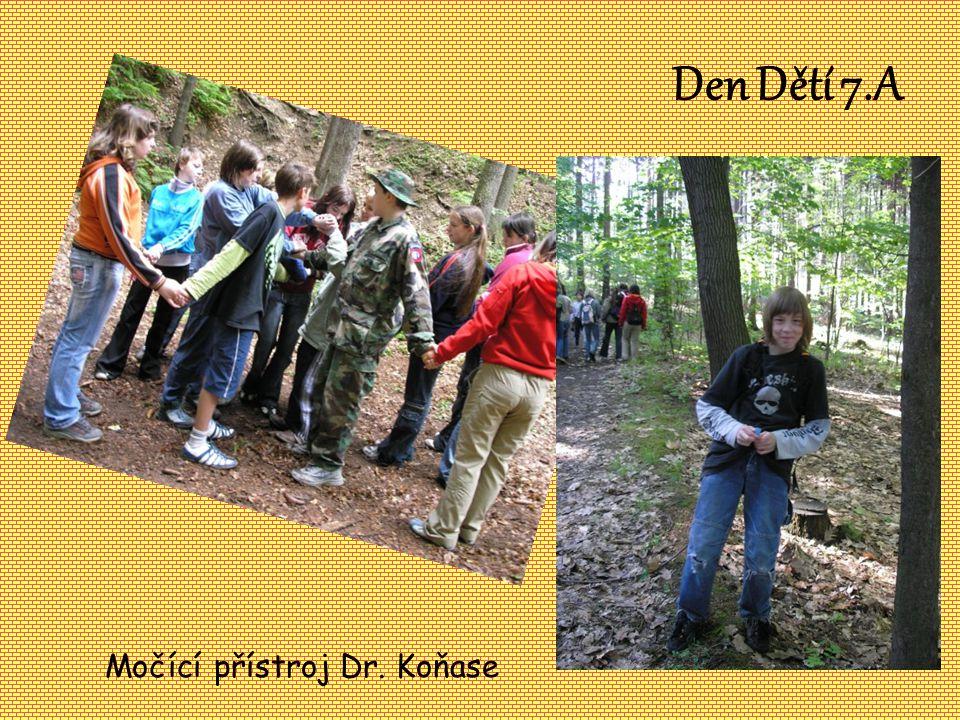 Den Dětí 7.A Močící přístroj Dr. Koňase