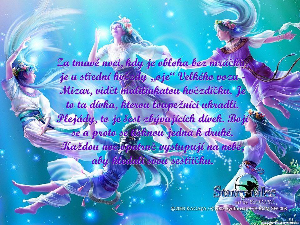 Žilo kdysi sedm bratr ů - loupežník ů. Doslechli se, že na samém konci zem ě, žije sedm dívek, sedm sester, skromných a krásných. Osedlali kon ě a p ř