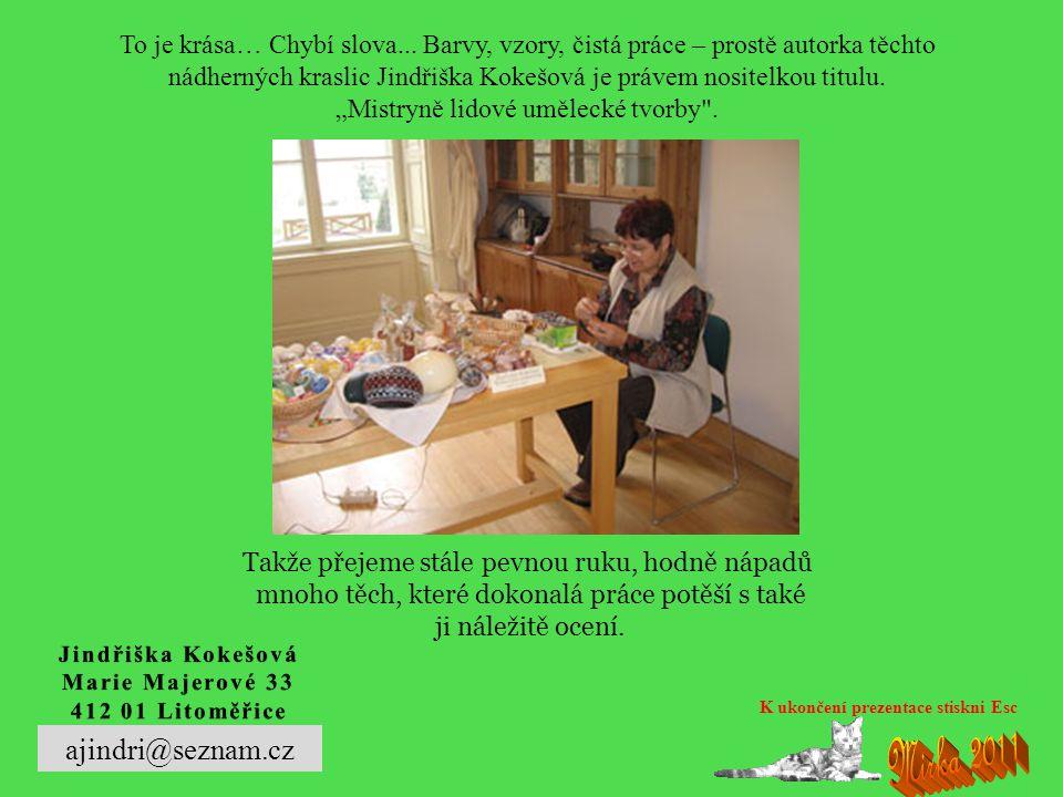 ukázky z Galerie kraslic v Libotenicích
