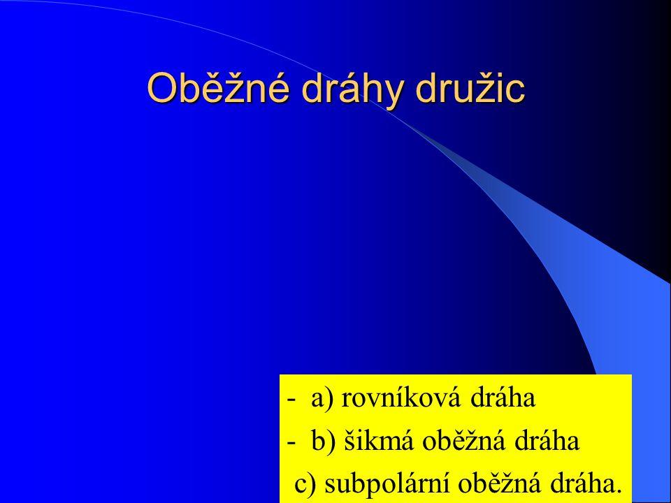 LANDSAT Systém družic, od poč.70.