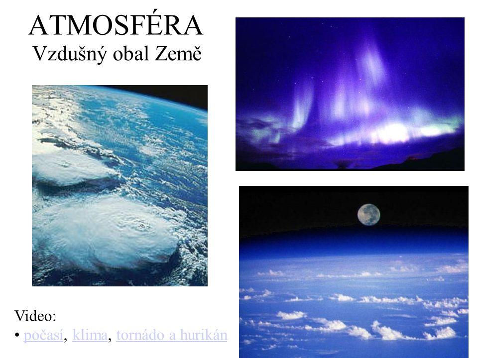 ATMOSFÉRA Vzdušný obal Země Video: počasí, klima, tornádo a hurikánpočasíklimatornádo a hurikán