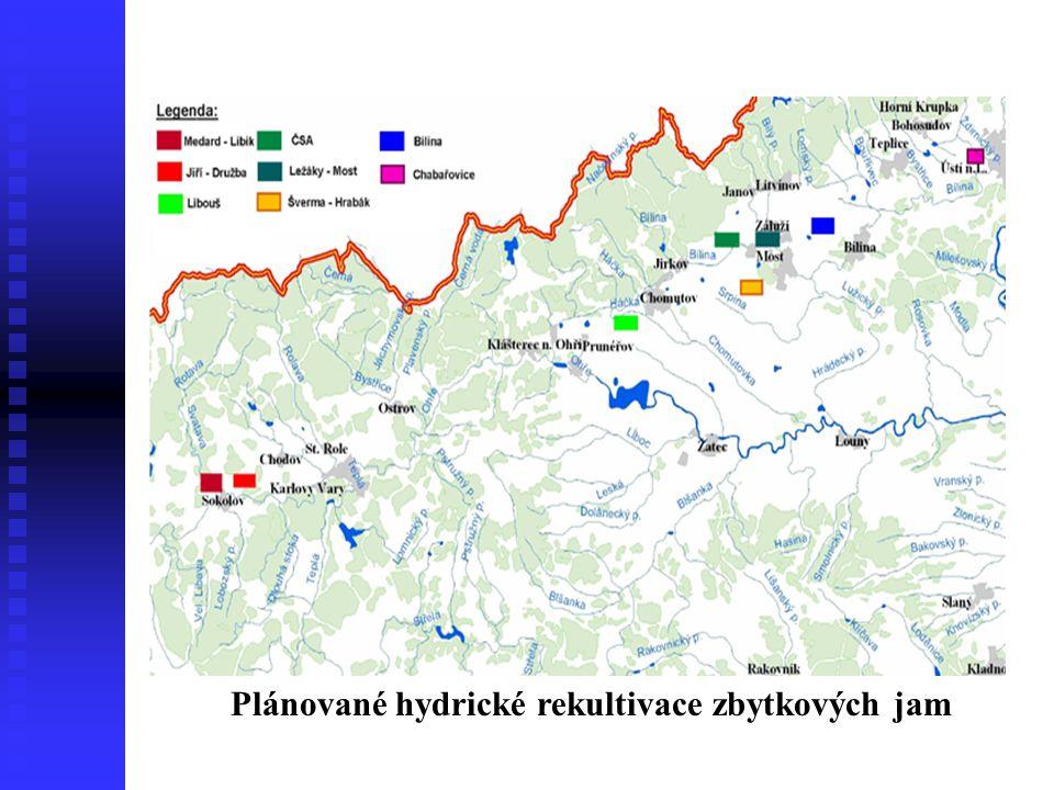 Současný stav Plán Stav 31.5.2006 Plocha hladiny225 ha190,2 ha Objem vody34,430 mil.