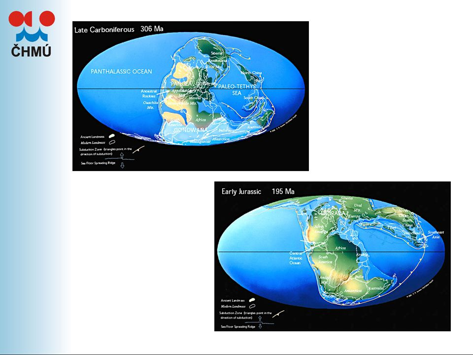 Vývoj koncentrací CO 2 – v poslední době růst, ale i další plyny (metan, oxid dusný, freony) Nejsilnějším skleníkovým plynem je vodní pára – koncentrace neovlivníme
