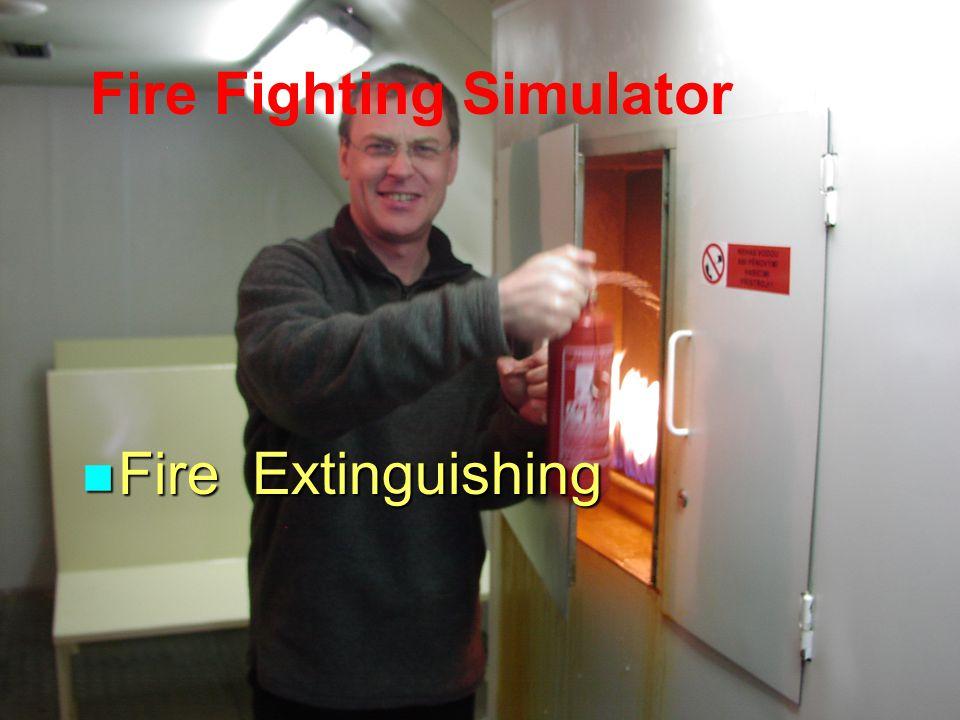 Fire Fighting Simulator Fire Extinguishing Fire Extinguishing