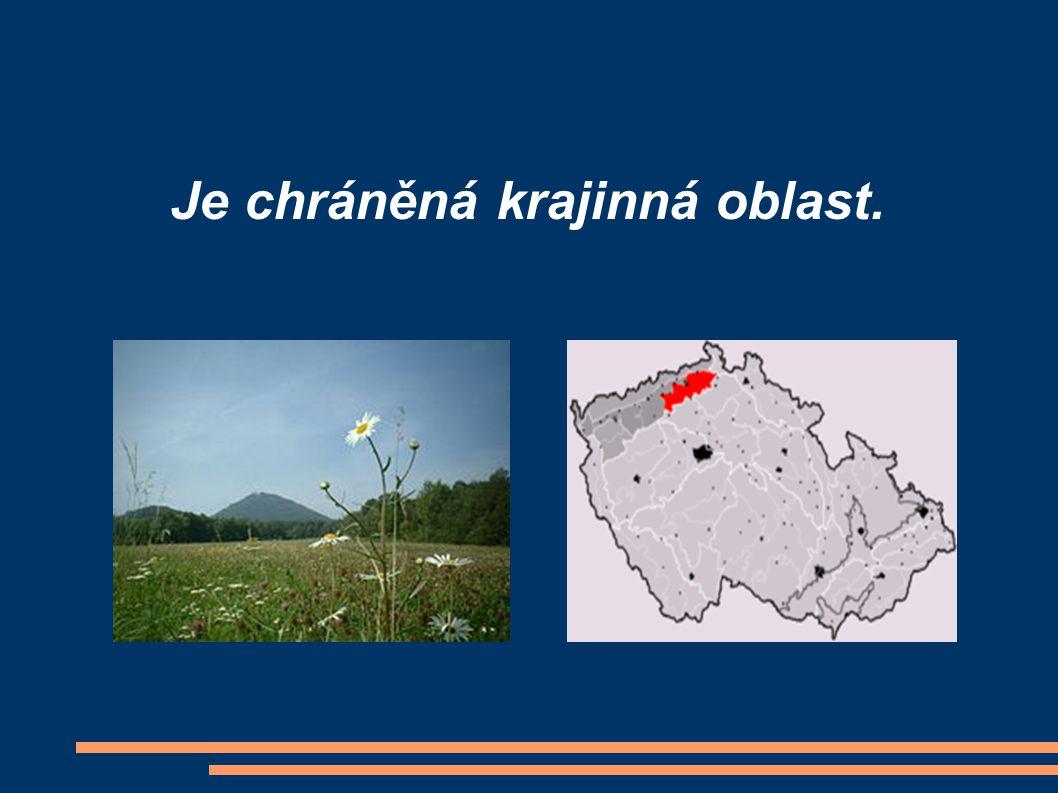 Je chráněná krajinná oblast.