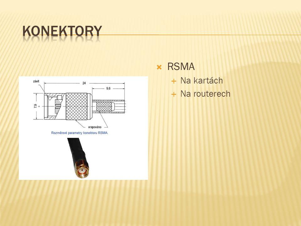  RSMA  Na kartách  Na routerech