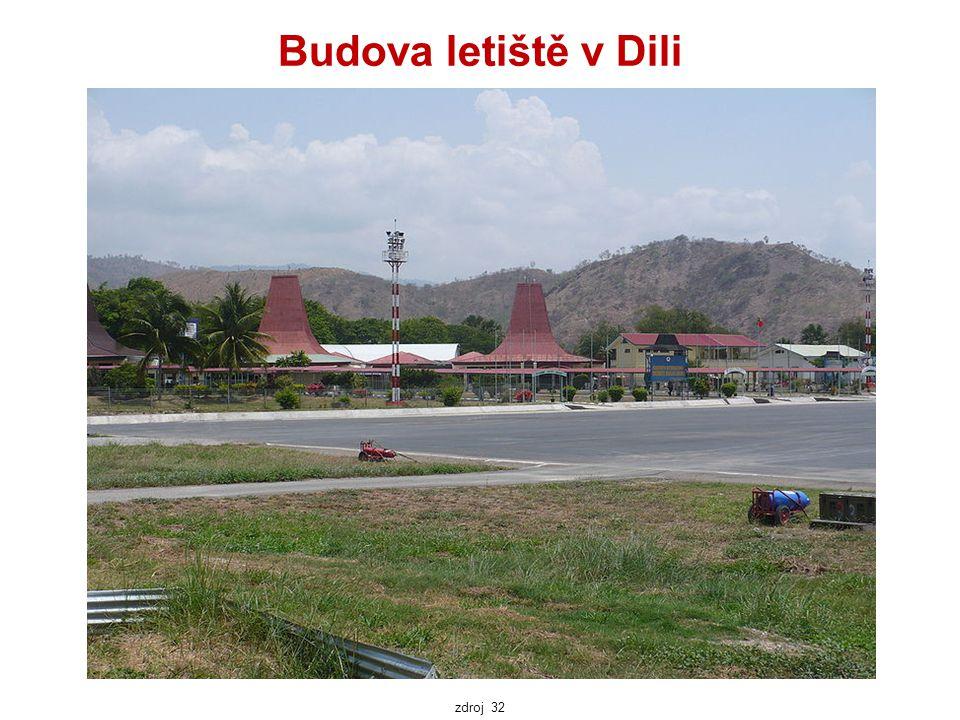Budova letiště v Dili zdroj 32