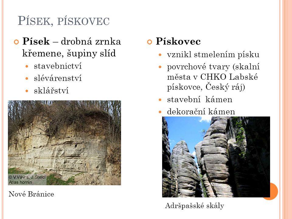 P ÍSKOVEC Lokalita Bor u Skutče Prachovské skály