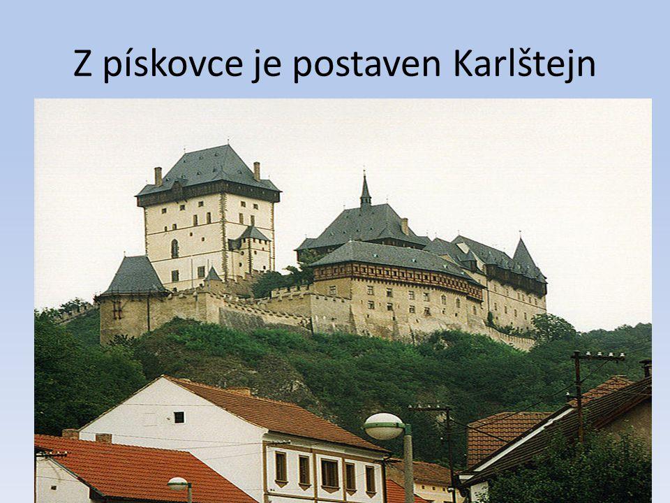 Stavební kámen Na území České republiky se těží především Pískovec Žula Vápenec Mnoho vytěžených nerostných surovin se používá jako stavební kámen