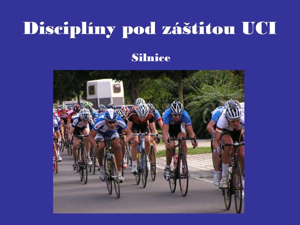 Disciplíny pod záštitou UCI Silnice