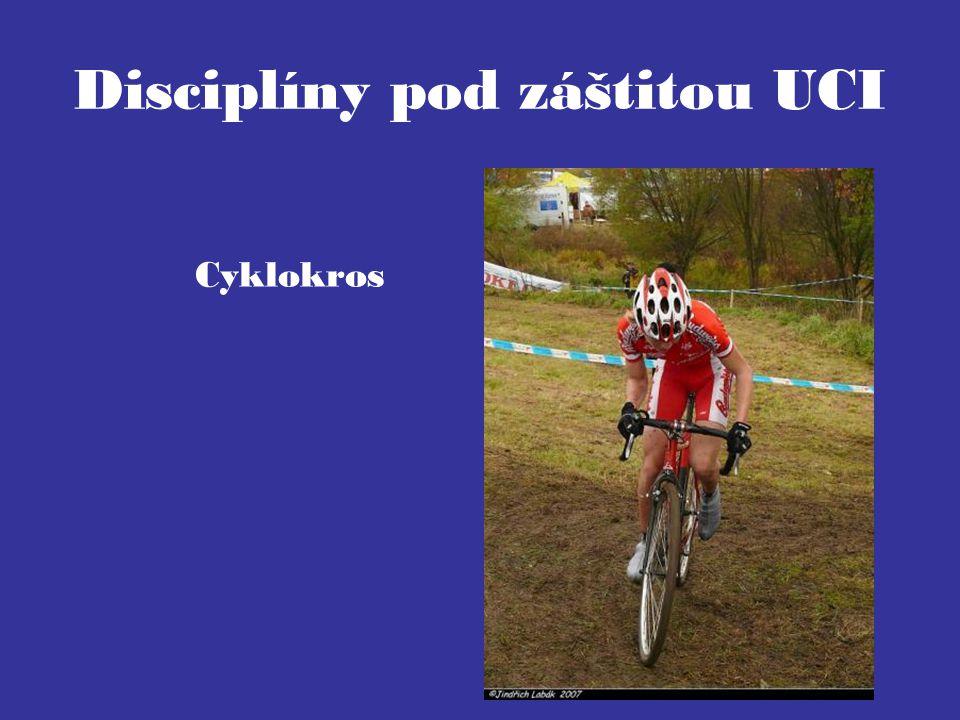 Disciplíny pod záštitou UCI Cyklokros
