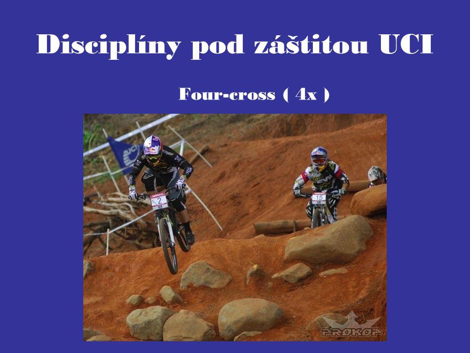 Disciplíny pod záštitou UCI Four-cross ( 4x )