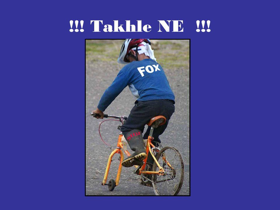 Jídní kola pro cykloturistiku Downhill/ Freeride Kolo má tup ě jší úhel mezi vidlicí a rámen kola.