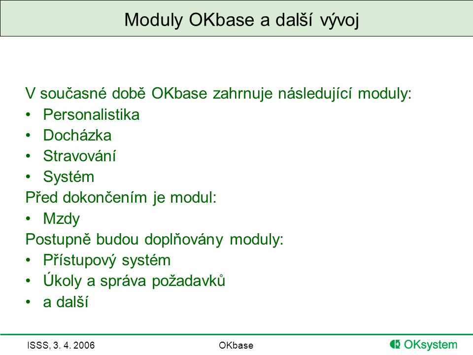 ISSS, 3.4.