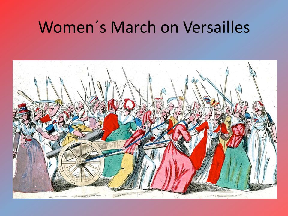 Women´s March on Versailles