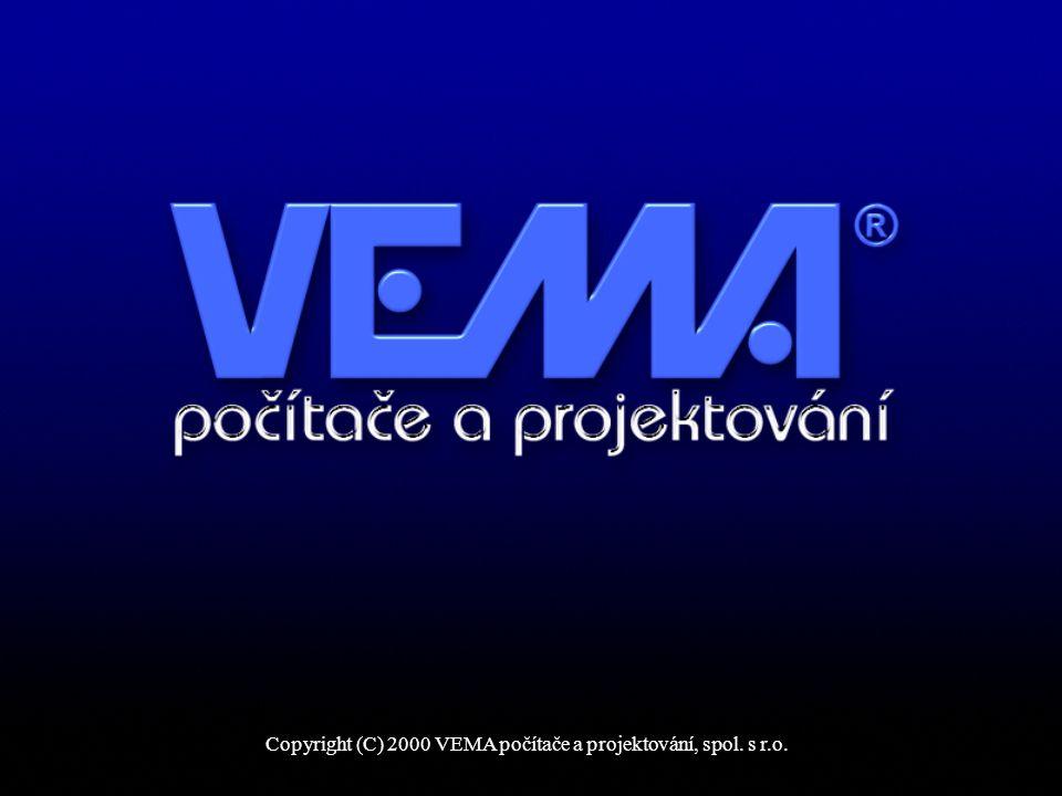 Copyright (C) 2000 VEMA počítače a projektování, spol. s r.o.