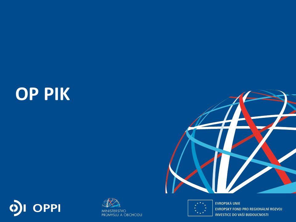 Ing. Martin Kocourek ministr průmyslu a obchodu ZPĚT NA VRCHOL – INSTITUCE, INOVACE A INFRASTRUKTURA OP PIK