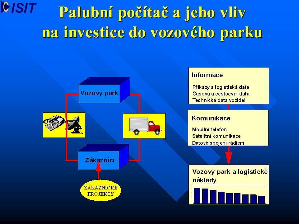 Palubní počítač a jeho vliv na investice do vozového parku