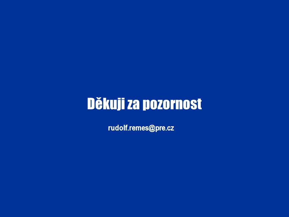 Děkuji za pozornost rudolf.remes@pre.cz