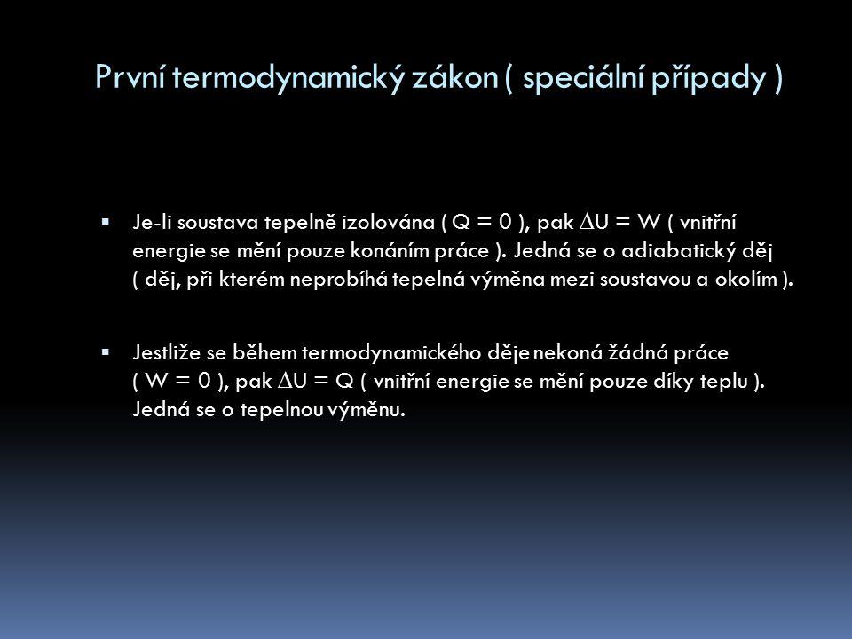 Přenos vnitřní energie ( vedením/kondukcí )  Tělesa musí být ve vzájemném kontaktu, nebo mezi různými částmi jednoho tělesa  Částice teplejšího vzduchu narážejí do částic tělesa studenějšího  Velkou tepelnou vodivost mají kovy, špatnou kapaliny a velmi špatnou plyny  Probíhá v každé látce  Tepelné vodiče ( látky s dobrou tepelnou vodivostí )  Tepelné izolanty ( látky se špatnou tepelnou vodivostí )