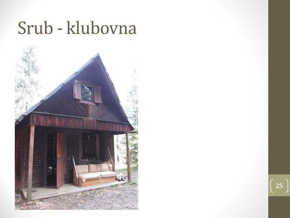 Srub - klubovna 25