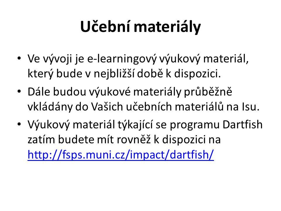 Učební materiály Ve vývoji je e-learningový výukový materiál, který bude v nejbližší době k dispozici. Dále budou výukové materiály průběžně vkládány