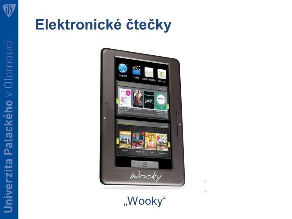 """Elektronické čtečky """"Wooky"""