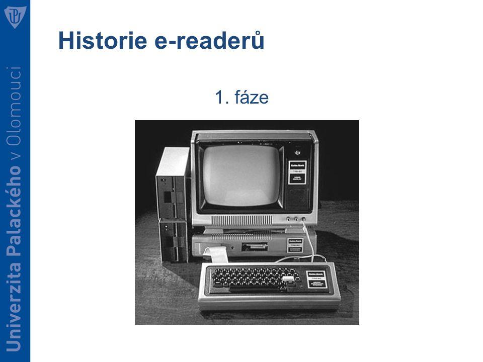 Historie e-readerů 1. fáze