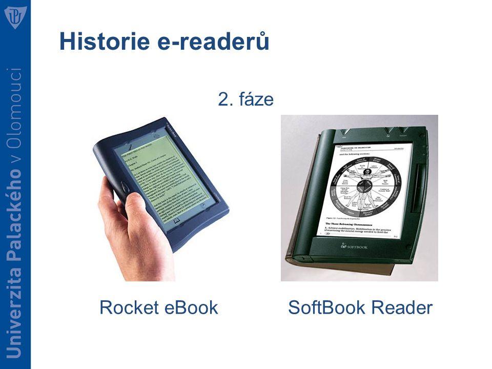 Historie e-readerů 2. fáze Rocket eBookSoftBook Reader