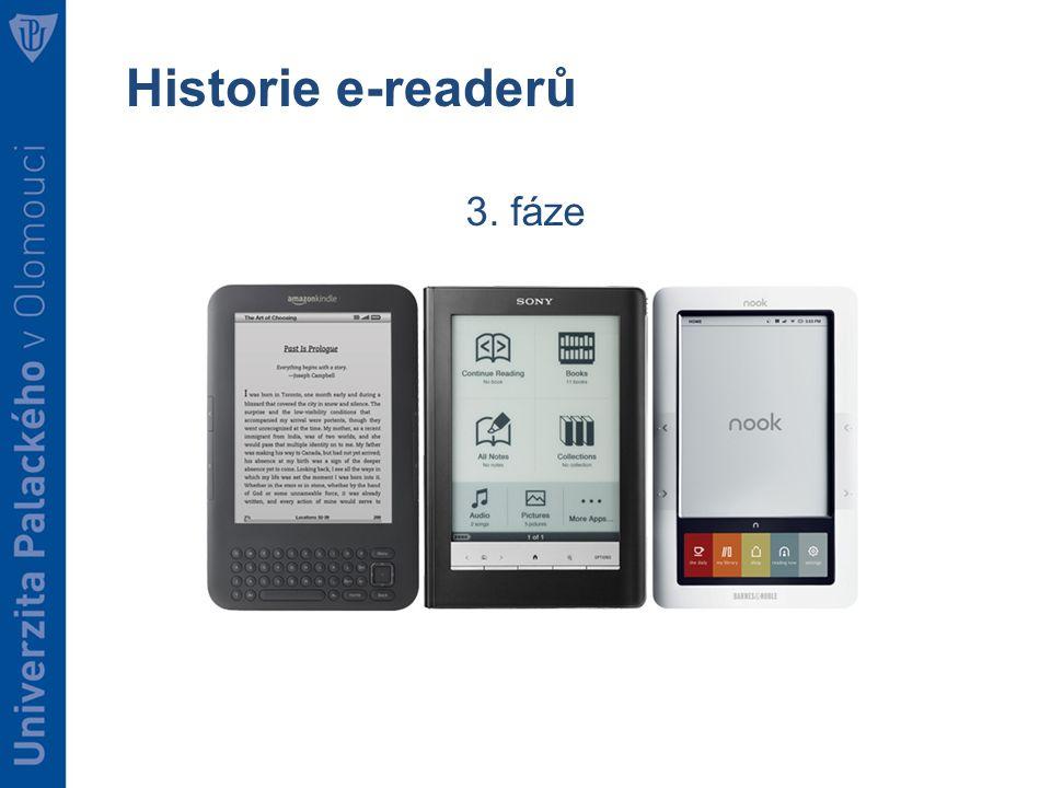 Historie e-readerů 3. fáze