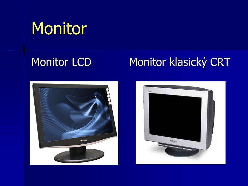 Monitor Monitor LCD Monitor klasický CRT