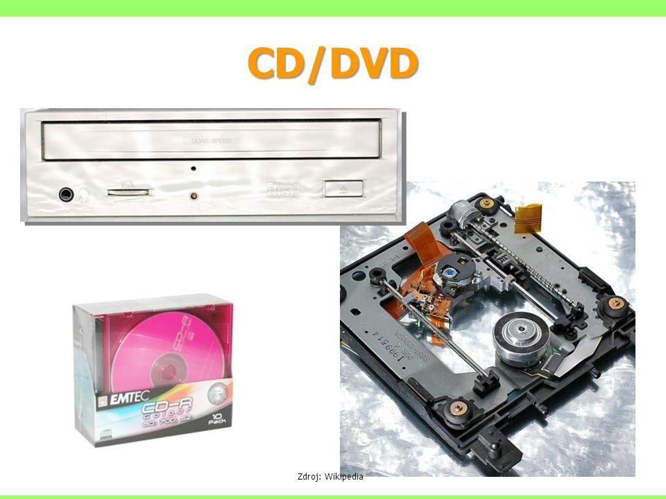 CD/DVD Zdroj: Wikipedia