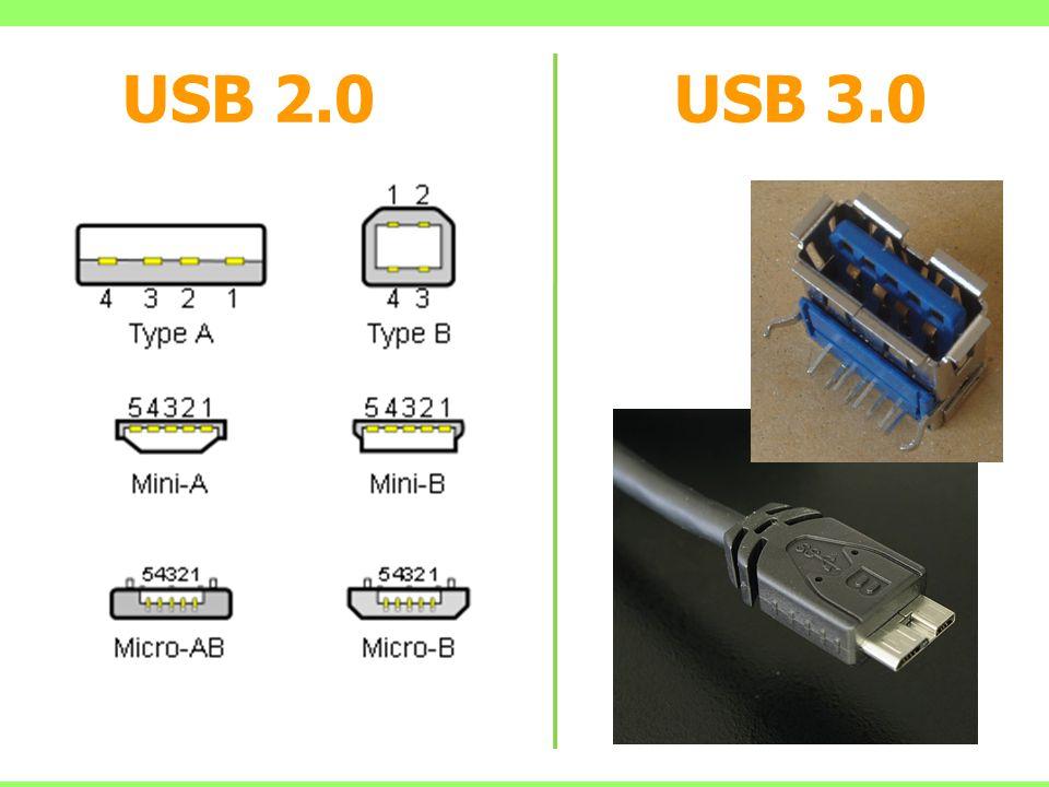 USB 2.0 USB 3.0