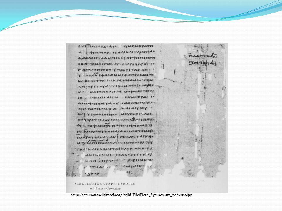 PERGAMEN Název podle maloasijského města Pergamon, které bylo hlavním střediskem výroby.