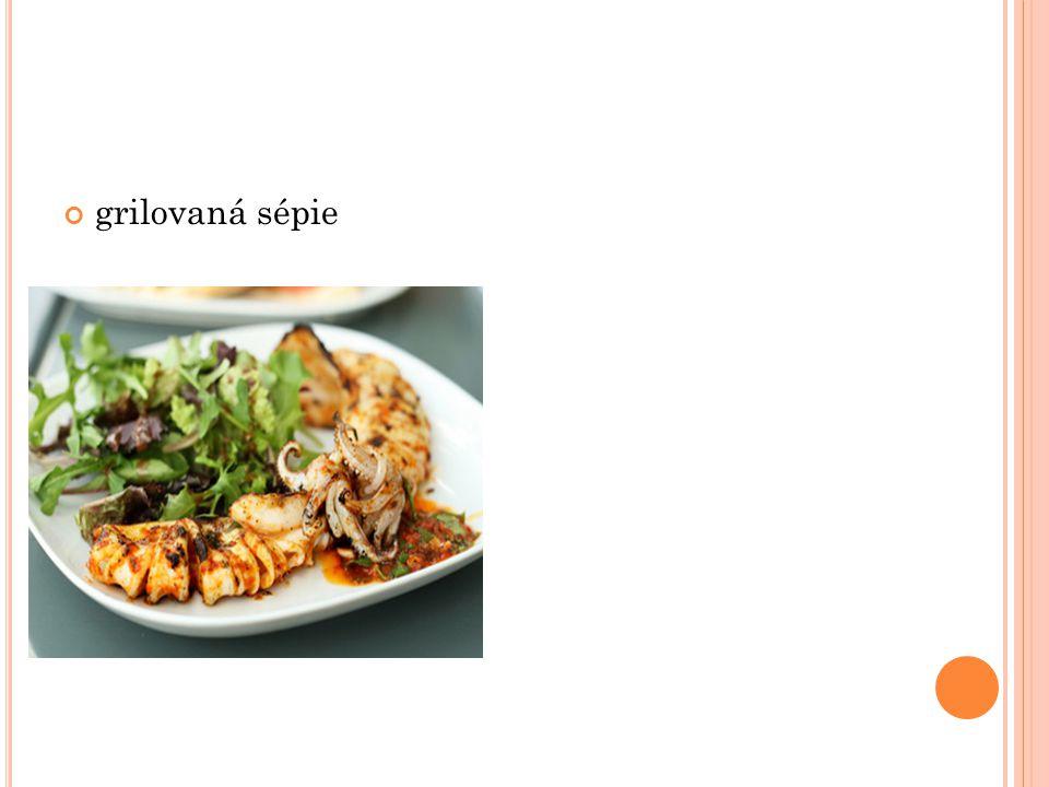 grilovaná sépie