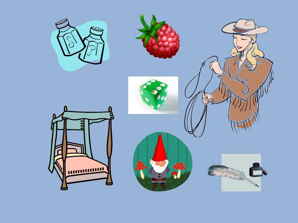 sůl, laso, postel, trpaslík, kostka, inkoust