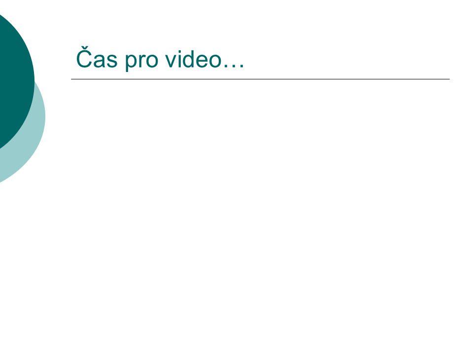 Čas pro video…