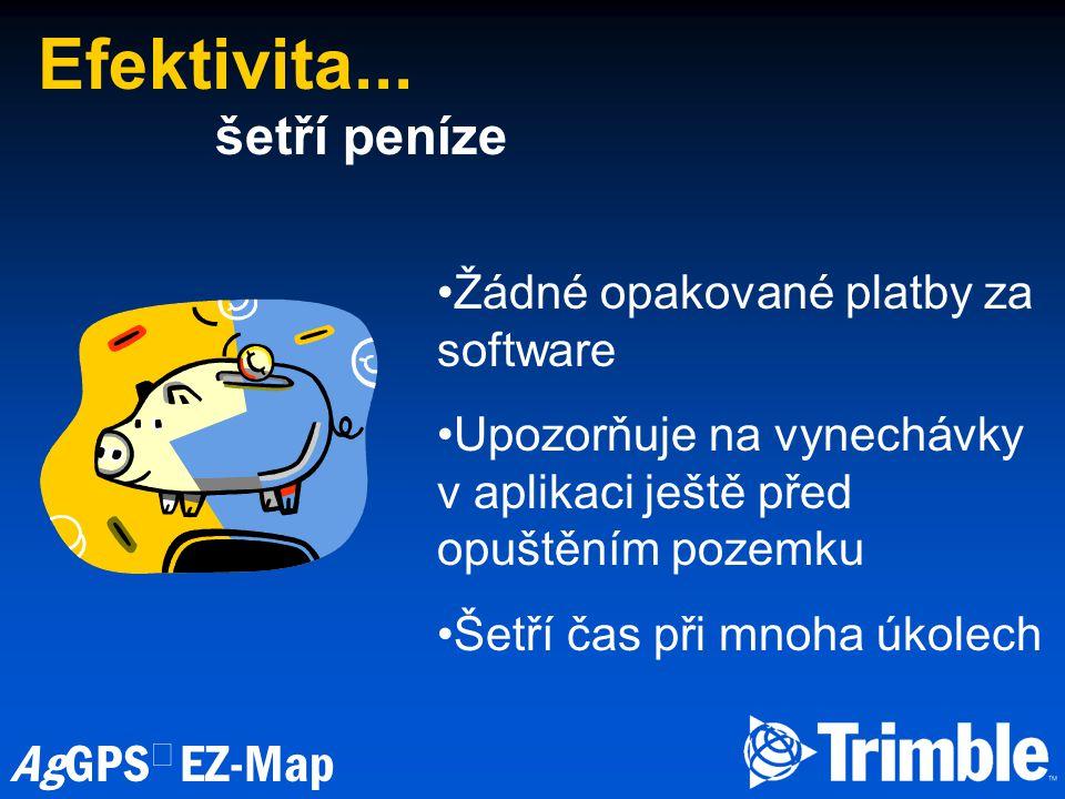 AgGPS  EZ-Map Efektivita...