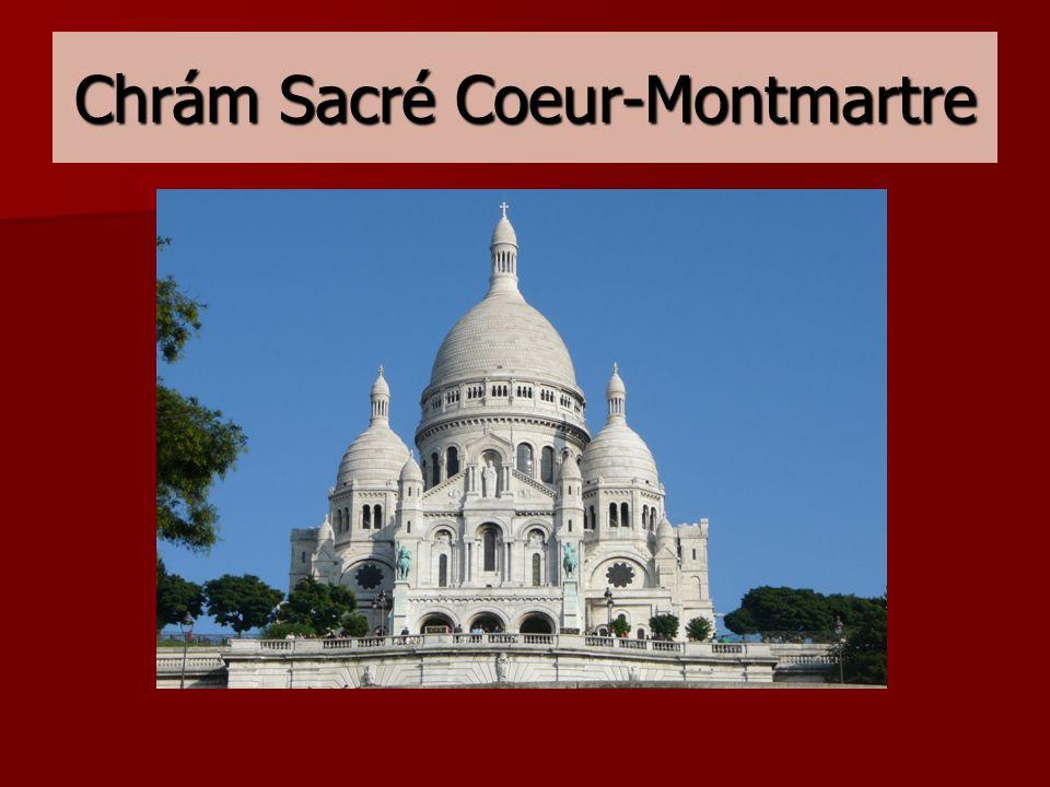 Chrám Sacré Coeur-Montmartre