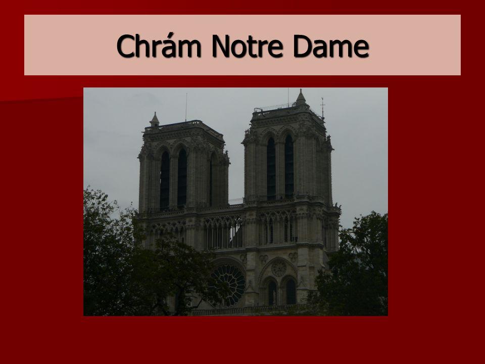 Chrám Notre Dame