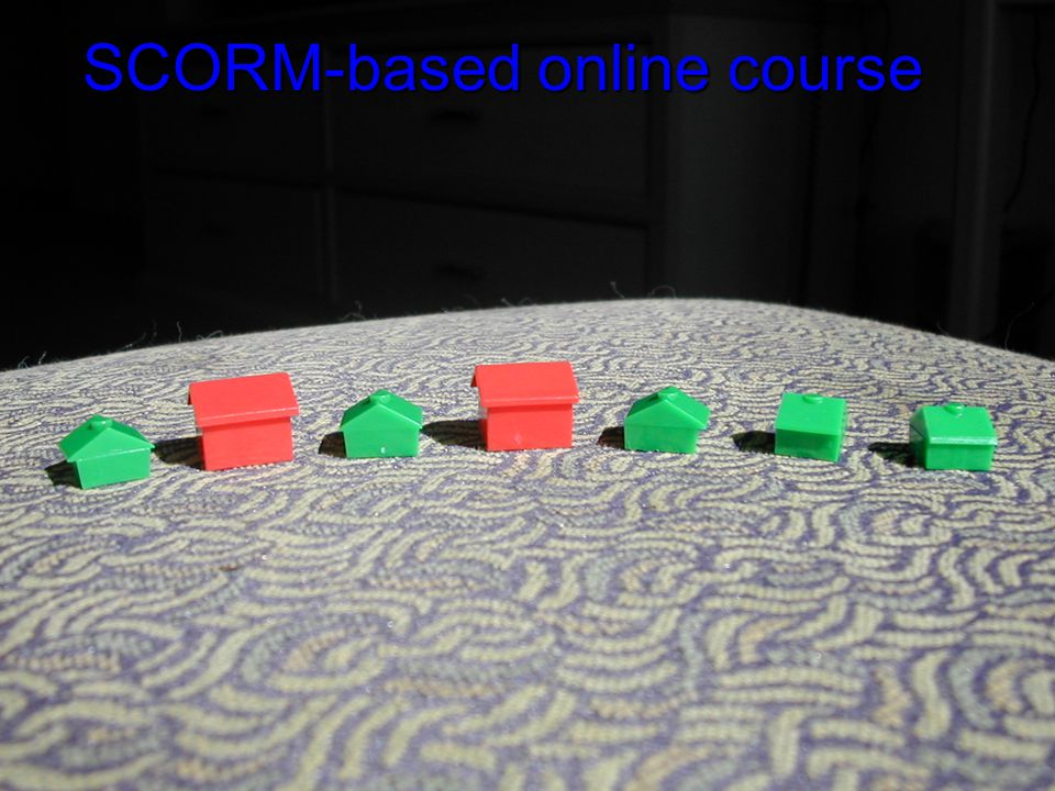 SCORM-based online course SCORM-based online course
