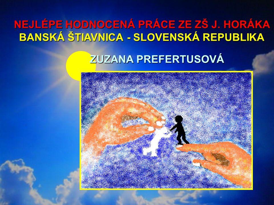 NEJLÉPE HODNOCENÁ PRÁCE ZE ZŠ J.