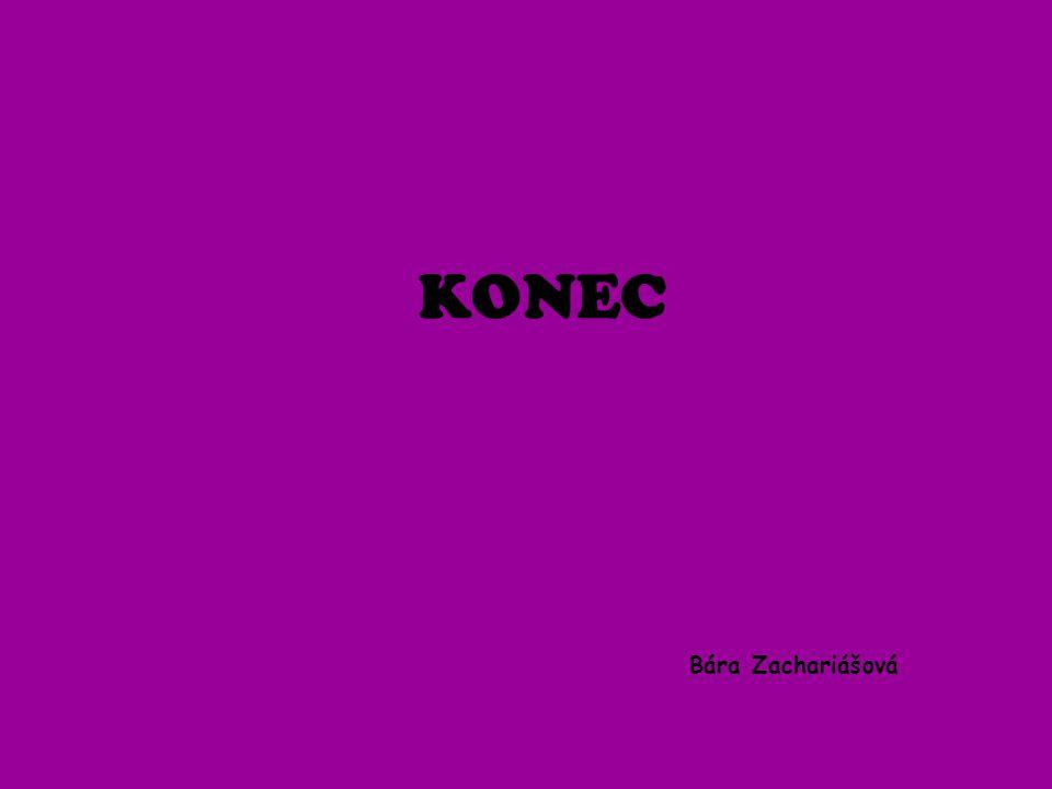 KONEC Bára Zachariášová