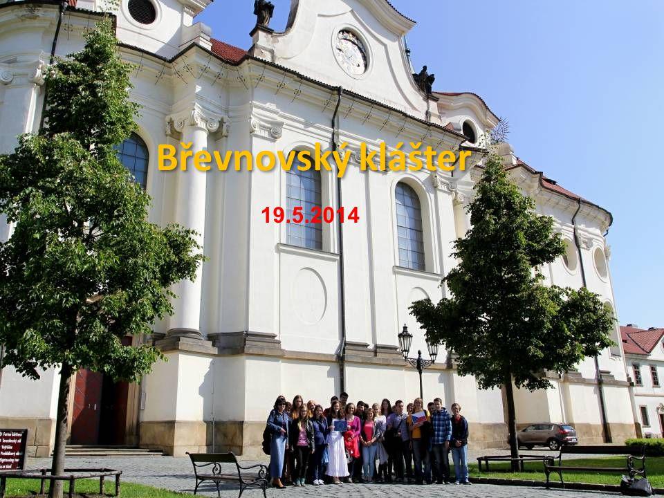 Břevnovský klášter 19.5.2014